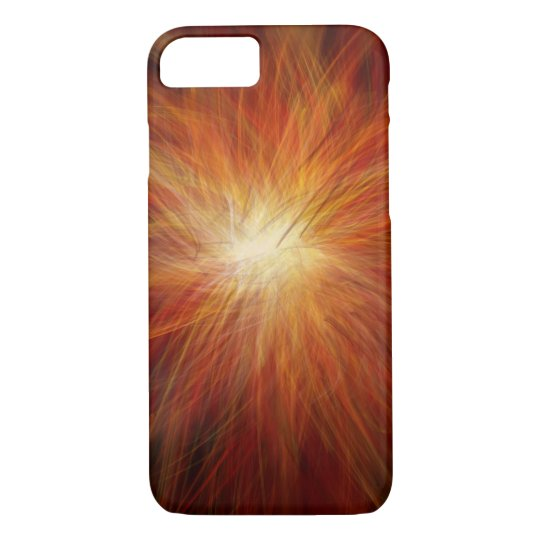 Fire burst - Apple iPhone Case