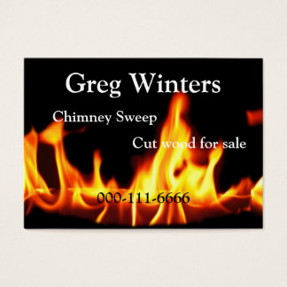 Fire Business Card