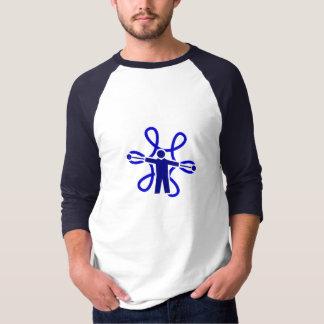 Fire Chain Poi Spinner Flower T-Shirt