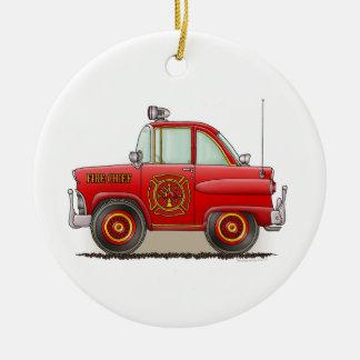Fire Chief Car Ornament
