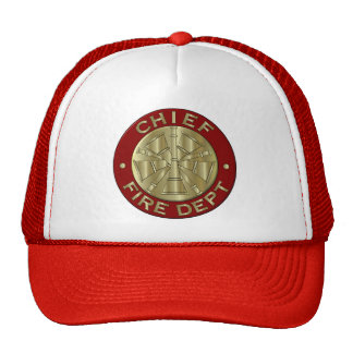 Fire Chief hat.... Cap