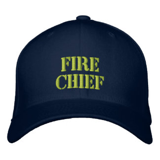 Fire Chief-Hat Embroidered Hat