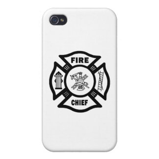 Fire Chief iPhone 4/4S Cases