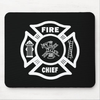 Fire Chief Mouse Mat