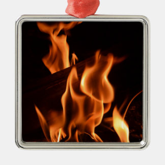 Fire Christmas Ornament