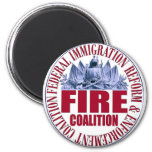 FIRE Coalition Magnet