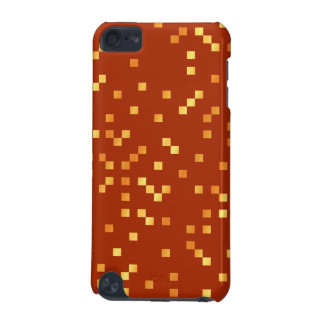 Fire Colors, Square Dots Pattern. iPod Touch (5th Generation) Covers