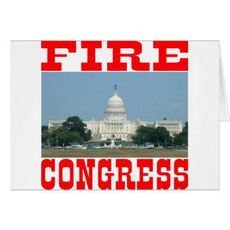 Fire Congress Greeting Card