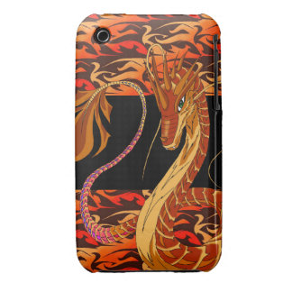 Fire Coral Dragon Autumn iPhone 3G/3Gs Cover iPhone 3 Case-Mate Cases