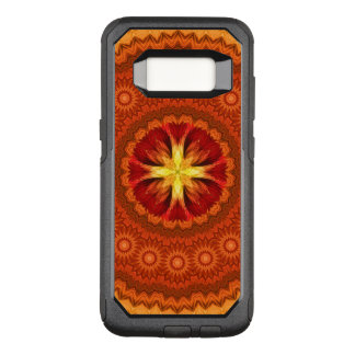 Fire Cross Mandala OtterBox Commuter Samsung Galaxy S8 Case