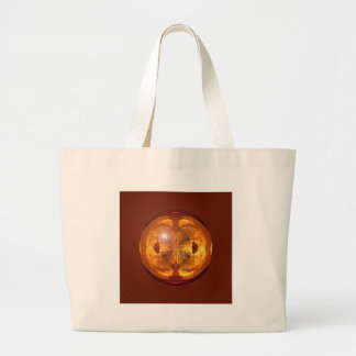 Fire Crystal Large Tote Bag