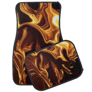 Fire Dance Car Mat