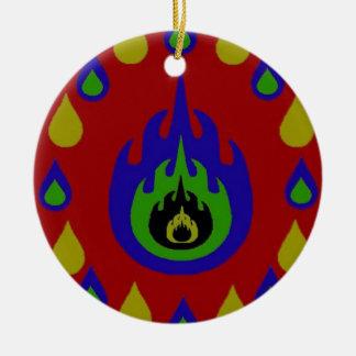 Fire Christmas Ornaments