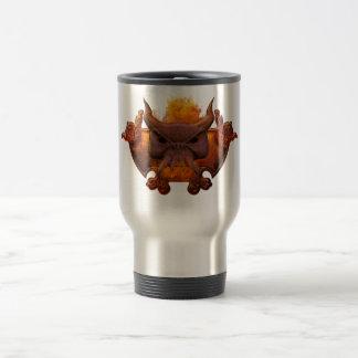 Fire Demon Stainless Steel Travel Mug
