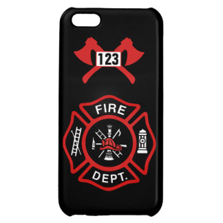 Fire Department Badge Cover For iPhone 5C