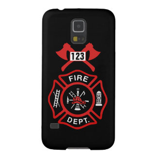 Fire Department Badge Galaxy S5 Cover
