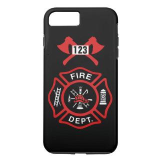 Fire Department Badge iPhone 8 Plus/7 Plus Case