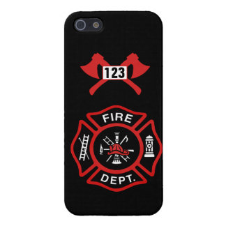 Fire Department Badge Cases For iPhone 5