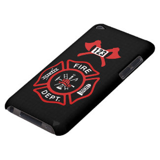 Fire Department Badge iPod Touch Case-Mate Case