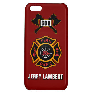 Fire Department Badge Name Template iPhone 5C Case