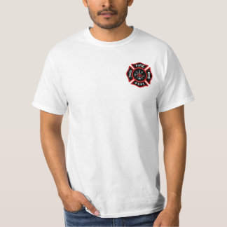 Fire Department Badge T-Shirt
