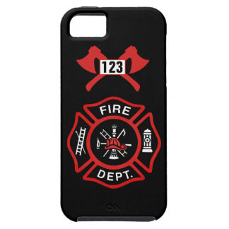 Fire Department Badge Tough iPhone 5 Case