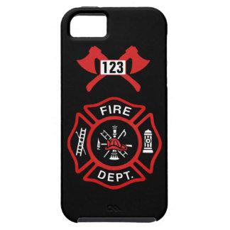 Fire Department Badge Tough iPhone 5 Case
