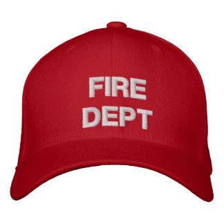 FIRE DEPARTMENT CAP BASEBALL CAP