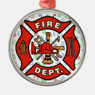 Fire Department Christmas Whimsy Ornament
