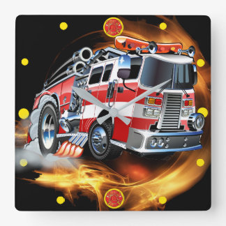 Fire Department Clock