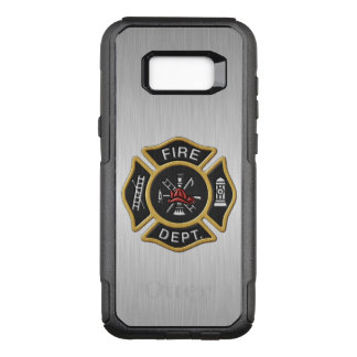 Fire Department Emblem Deluxe OtterBox Commuter Samsung Galaxy S8+ Case