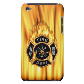 Fire Department Flames Barely There iPod Cases