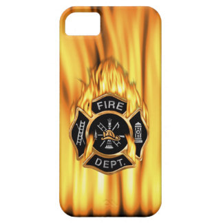 Fire Department Flames iPhone 5 Cover