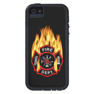 Fire Department Flaming Badge Case For The iPhone 5