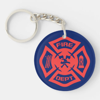 Fire Department Key Ring