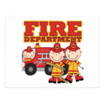Fire Department Tshirts and Gifts Postcard