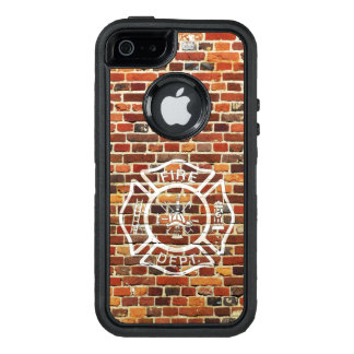 Fire Department Wall OtterBox iPhone 5/5s/SE Case