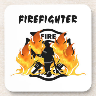 Fire Dept Flames Coaster