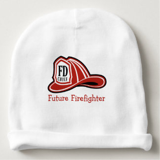Fire Dept Future Firefighter Baby Beanie