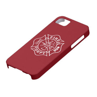 Fire Dept Maltese Cross iPhone case 5/5S/SE iPhone 5 Covers