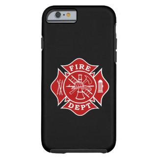 Fire Dept Maltese Cross iPhone Case 6/6s Tough iPhone 6 Case