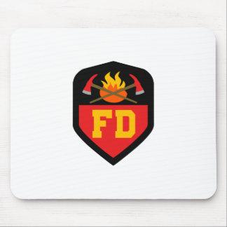 FIRE DEPT MOUSE PAD