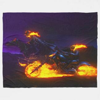 FIRE DEVILS FLEECE BLANKET