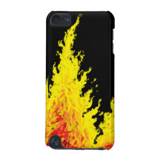 fire digital oilpaint csm iPod touch (5th generation) covers