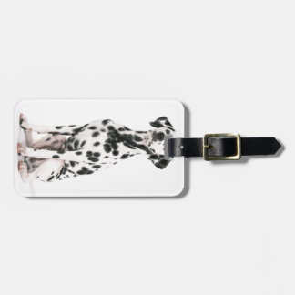 Fire Dog Luggage Tag