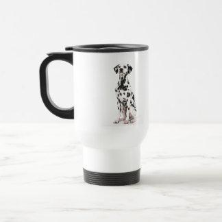 Fire Dog Plastic Travel Mug