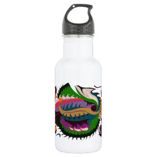Fire Dragon (Green & Black) 532 Ml Water Bottle