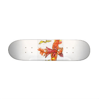 ]Fire dragon skateboard