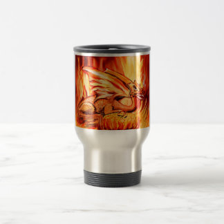 Fire Dragon travel mug