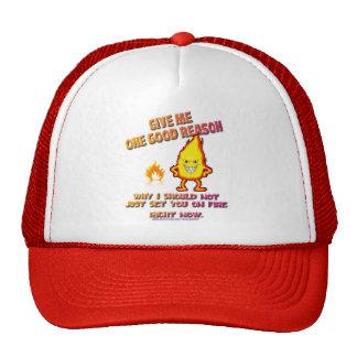 Fire Dude Hats